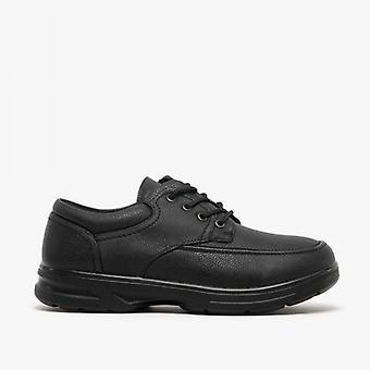 Dr Keller Barry Mens Lace-up Comfort Wide Fit Shoes Black