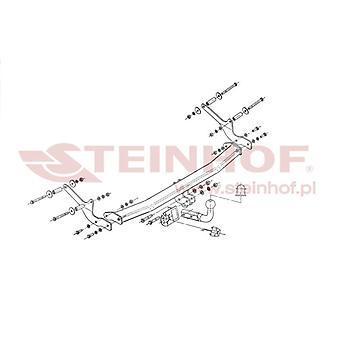 Steinhof Towbar (rettelser 2 bolte) til Renault CLIO mk3 2005-2012