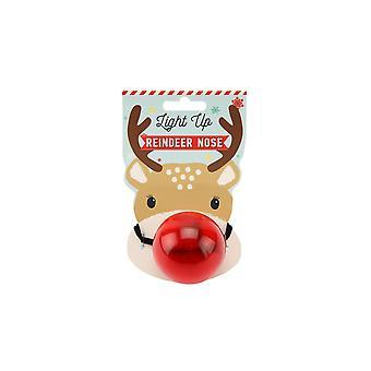 CGB Geschenkartikel Freude an die Welt Weihnachten blinkende Reder Nase