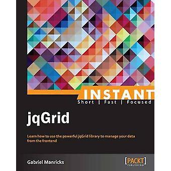 Instant jqGrid par Manricks et Gabriel
