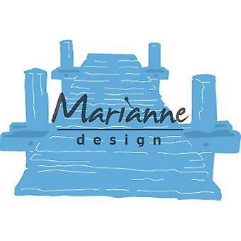 Marianne Design Creatables Cutting Dies - Tiny's Beach Jetty LR0597 1 Pc. 75x50 mm