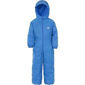 Kids Trespass Dripdrop Padded Waterproof All-In-One Suit