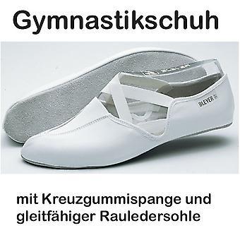 Bleyer scarpe da ginnastica con suola di cuoio grezzo e gomma cross, modello 610