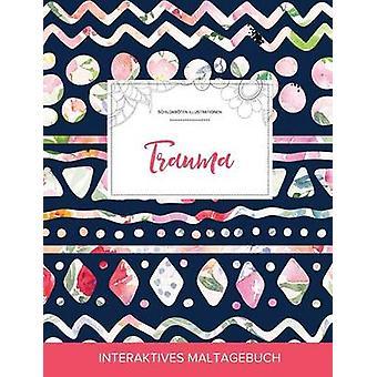 Maltagebuch fr Erwachsene Trauma Schildkrten Illustrationen Tribalblumen by Wegner & Courtney