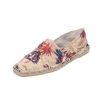 H by Hudson BLAKE CANVAS Men's Loafer Beige Slip-Ons Business Shoes