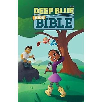 CEB Deep Blue Kids Bible Wilderness Trail Hardcover - 9781609262204 B
