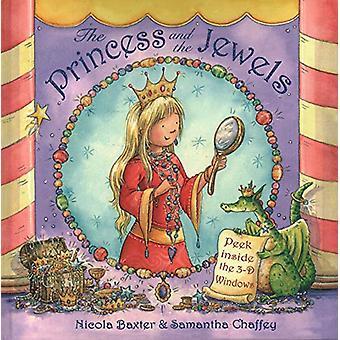 Princess & The Jewels - Peek inside the 3-D windows by Nicola Baxt