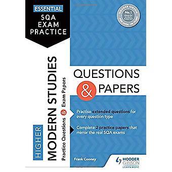 Viktig SQA eksamen praksis - Høyere moderne studier Spørsmål og Pape