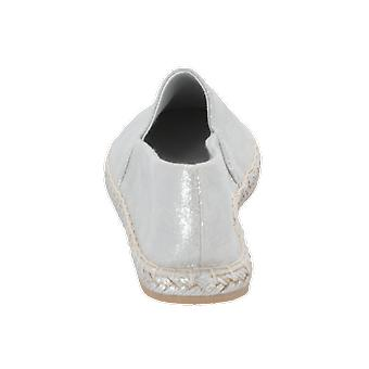 New Look METALLICA Women's Loafer Silver Slip-Ons Business Shoes