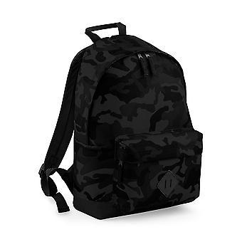Bagbase kamouflage ryggsäck / ryggsäck (18 liter) (förpackning med 2)