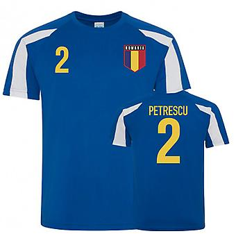 Rumænien Sports Training Trøjer (Petrescu 2)