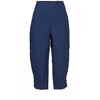 Pantalon bleu médiéval de stylo de masai