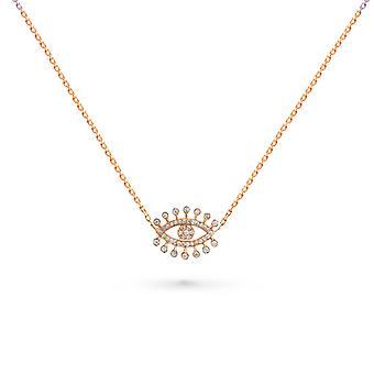 Kaulakoru Eye Dubai 18K kultaa ja timantteja