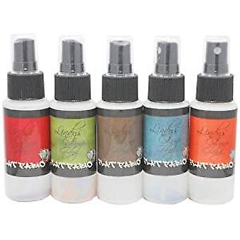 Lindy's Stamp Gang Go Greased Lightnin' Flat Fabio Spray Set