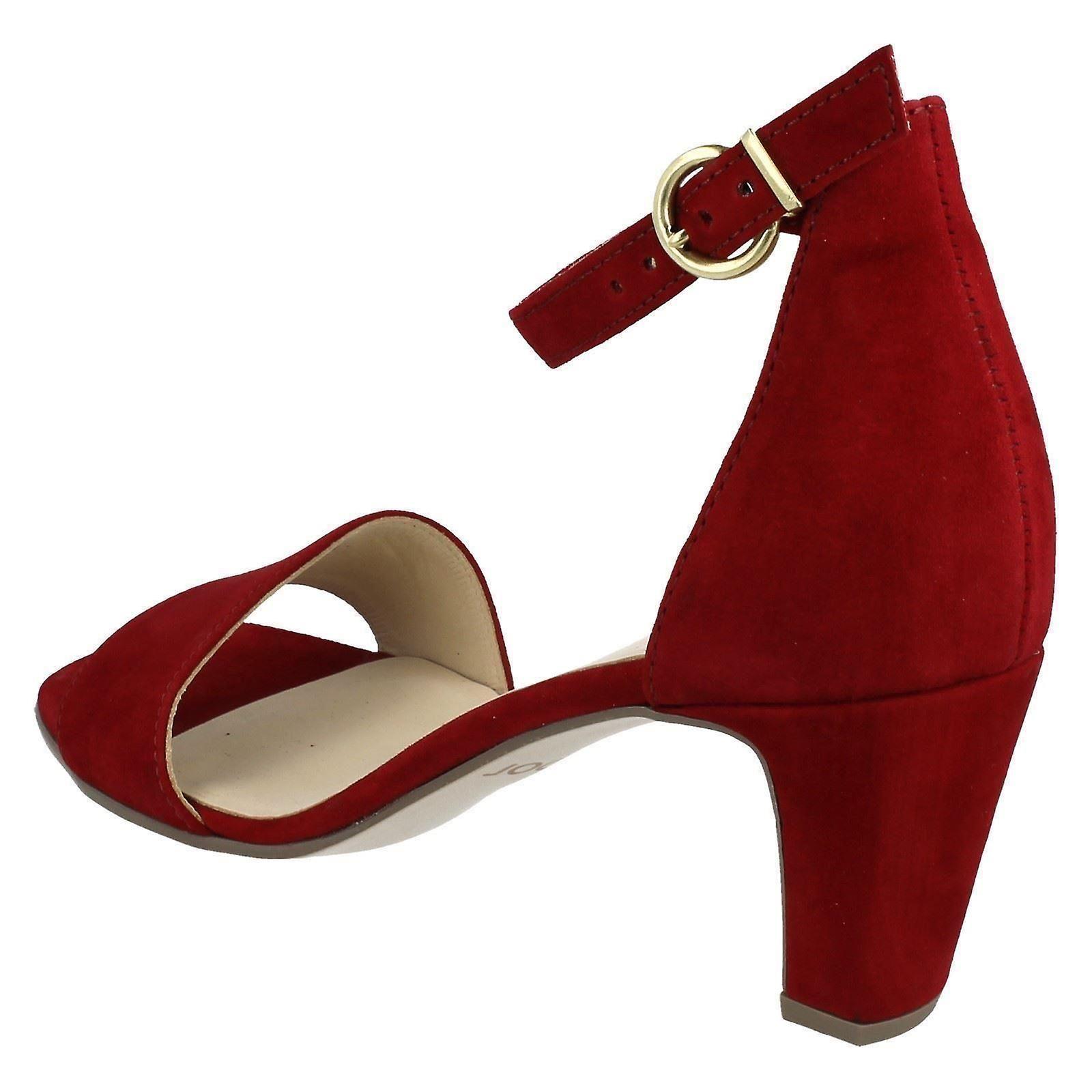 Ladies Gabor Ankle Strap Sandals 41790