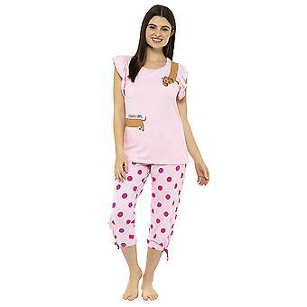 """""""Lonnnng Days"""" Jersey Cropped Pyjama Set"""