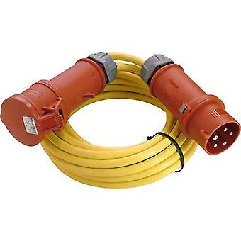 as - Schwabe 60711 Akım Kablo uzantısı 16 A Sarı 10.00 m