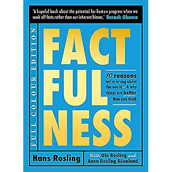 Factfulness (Illustrated) by Hans Rosling - 9781529387155 Book