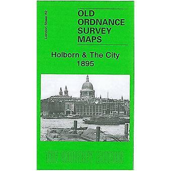 Holborn & The City - 1895 - London Sheet 62.2 by Pamela Taylor - 9