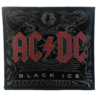 AC/DC Patch Black Ice Album Band Logo new Official 10 x 9.5cm sew on