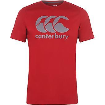 Canterbury Vapodri Logo T Shirt Mens