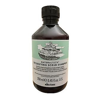 Davines Detoxifying Scrub Shampoo Atonic Scalp 8.45 OZ