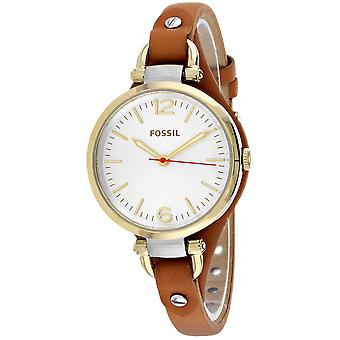 Fossil Women's Georgia Silver Dial Watch - ES3565