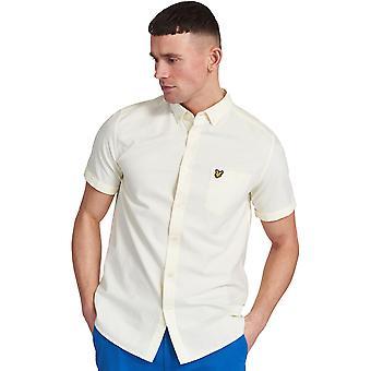 Lyle & Scott Herren Kurzarm Regular Fit Oxford Shirt