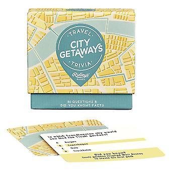 Ridley's City Getaway Trivia