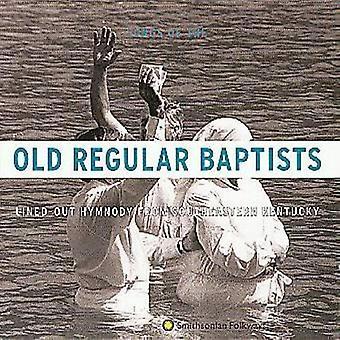 Batistas regulares velhos - importação EUA Lined-Out Hymnody de Southea [CD]