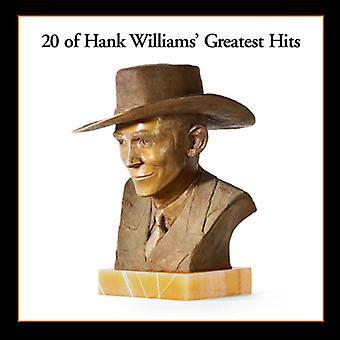Hank Williams - 20 Greatest Hits(LP) [Vinyl] USA import