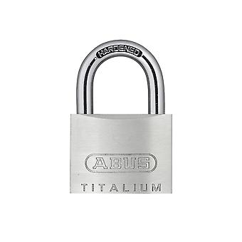 ABUS 54TI/40mm TITALIUM Padlock Twin Pack Carded ABU54TI40TC