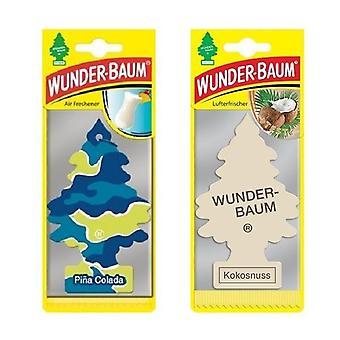 Wunder-Baum (Pina Colada + Coco) 2-Pack