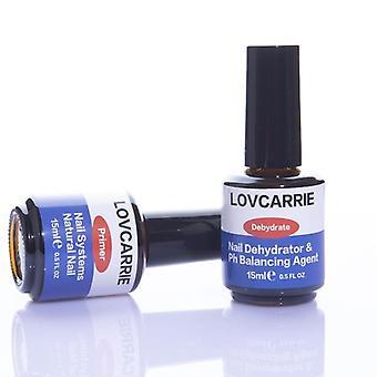Set Nail Dehydrator And Base / Top Coat Primer- Acrylic Uv Gel