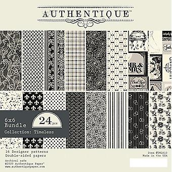 Authentique Timeless 6x6 Inch Paper Pad