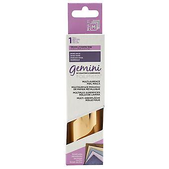 Gemini Multi-Surface Folie Rose Gold