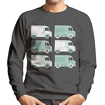 Citro?n Retro Type H Van Art Men's Sweatshirt