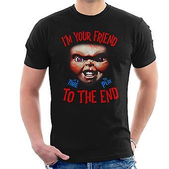Chucky Im tu amigo Hombres's Camiseta