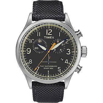 TW2R38200, Waterbury Timex Style Herrenuhr / Schwarz