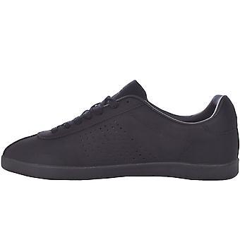 Lambretta hombres Gazzman baja altura casual zapatillas de deporte de moda - negro