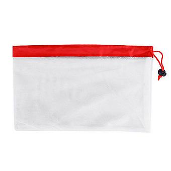 Polyester Reusable Mesh Fruit Bags 7.87x12.20inch Small