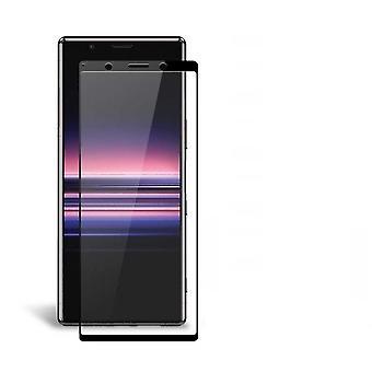 Protecteur d'écran Sony Xperia 5 Tempered Glass Black