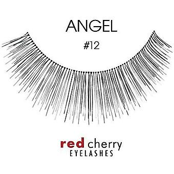 Red Cherry False Wimpers - #12 Angel - Perfect Curl Handgemaakte Wimpers