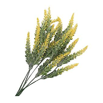12PCS Artificial Lavender Bouquet Decration Light Yellow