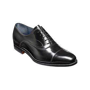 Barker Hartley - Black Hi-Shine | Mens Handmade Leather Oxford | Barker Shoes