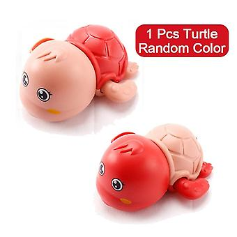 Cartoon Bath Animal Tortoise Crab Classic Baby Water Toy - Infant Swim Wound-up