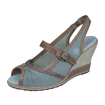 Timberland Maeslin Slingback Womens Ankle Strap Sandals - vert