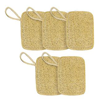 Esponjas de lavagem de louça orgânicas - Conjunto de 5 | M&W
