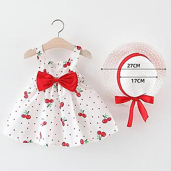 "Melario""s Clothing Baby Girl Clothes- Summer Party Clothing For Dress, Cherry"