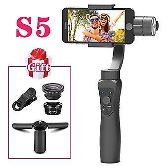 3 Axis Handheld Stabilizer Gimbal With Object And Face Tracking For Smartphone